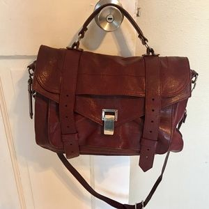 Proenza Schouler Medium PS1 Oxblood